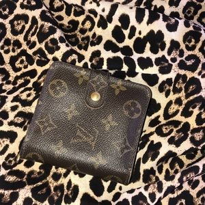 CERTIFIED AUTHENTIC LV Compact Wallet